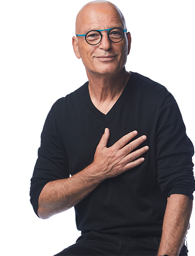 Howie Mandel laughing